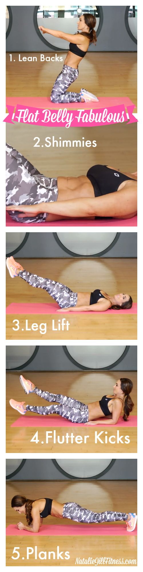FLAT BELLY here we come! Make sure to keep these in your flat belly arsenal! Click the image above for more of my FAVORITE moves!: Belly Exercise, Flat Belly Diet, Belly Workouts, Flat Tummy Workout, Flat Stomach Workout, Body Inspiration, Work Out, Flat