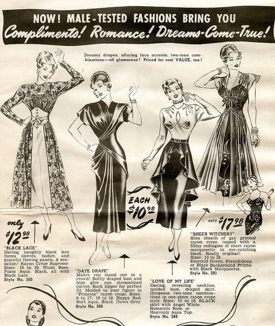 Frederick's of Hollywood 1950s: Fashion 50S, Retro Fashion, Tested Fashions, 1950 S Fashion, Hollywood 1950S, Bygone Fashion, Photo, 1950 Fashions, 1950S Fashion