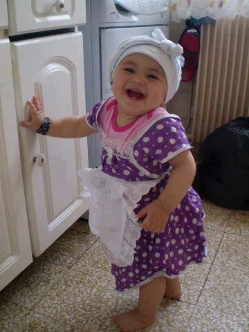 I have K.P.duty today.: Babies, Girl, Funny, Children, Adorable, Kids, Smile, Photo