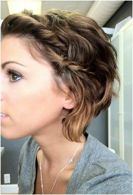 25 Short Hairstyles That'll Make You Want to Cut Your Hair. Cute way to style short hair. Love the braid on the side.: Hairstyles, Hair Styles, Hair Cut, Shorts, Haircut, Shorthair