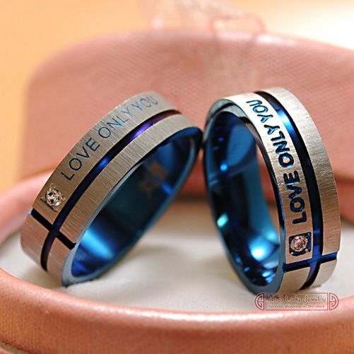 Promise ring set for him and her on AliExpress for only $7.59: Couple Rings, Wedding Ideas, Weddings, Wedding Bands, Jewelry, Wedding Rings, Promise Rings, Stainless Steel