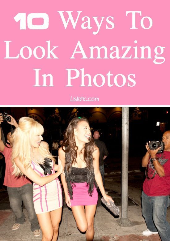 Tips on how to look your best in photos! (with pictures) Have you ever looked at a photo of yourself that somehow managed to ruin your entire day?! That may be a bit of an exaggeration, but I think we could all use a little help when it comes to looking g
