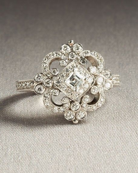 This is by FAR the most BEAUTIFUL ring ever and if i could pick my own wedding ring, this would be it.