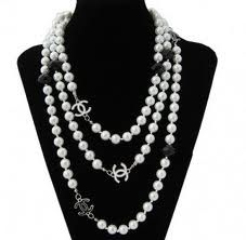 Chanel 2012 - A personal fave would suit me well because I am big in to layered necklaces since I could dress myself!