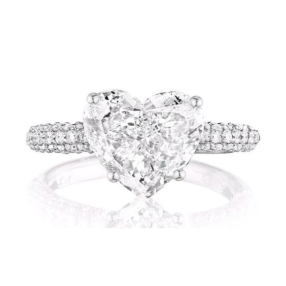 Leo Ingwer heart-shaped engagement ring