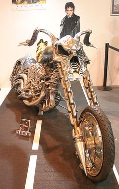 Ghost Rider Bike. CLICK the PICTURE or check out my BLOG for more: http://automobilevehiclequotes.tumblr.com/#1506201542: Ghost Rider, Cars Motorcycles, Bike Motorcycleinsurance, Chopper Motorcycles, Motorcycles Biker, Rider Bike, Ghostrider S Bike, Motor