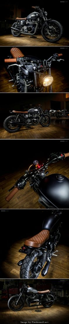 Bonneville T100 by Maccomotors  Click to read more about