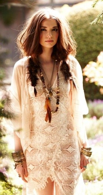 don't think i can pull this off, but i absolutely love the bohemian look