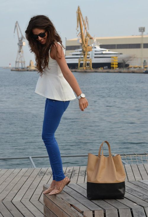 simple chic outfit