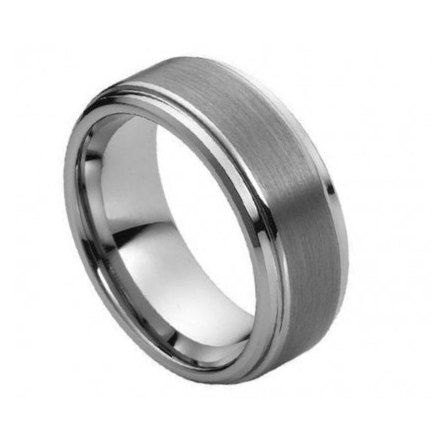 Tungsten Wedding Band Tungsten Engagement ring for Men by RoseOwl, $38.99