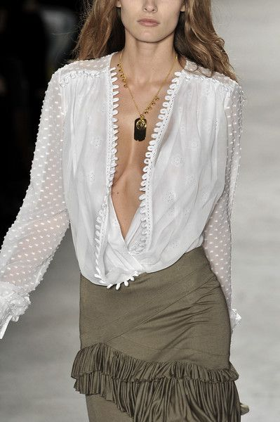 Altuzarra. Though I will prob do up some buttons or wear a tank top.
