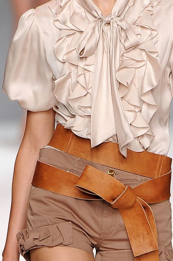 LOVE this!   Blugirl fashion 2010 Spring runway.  (where can I get this?)
