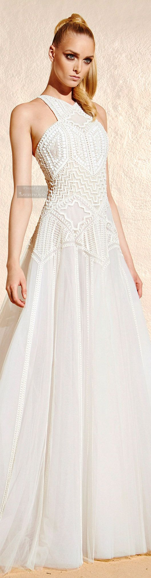 RESORT 2015 Zuhair Murad.  http://es.pinterest.com/meriyay/resort-2015/