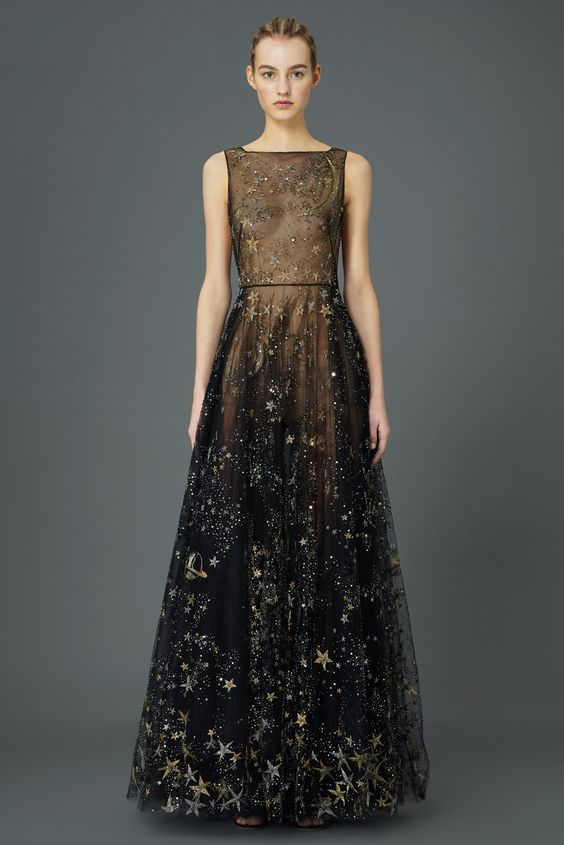 Valentino's Pre-Fall Collection: My God, It's Full of Stars