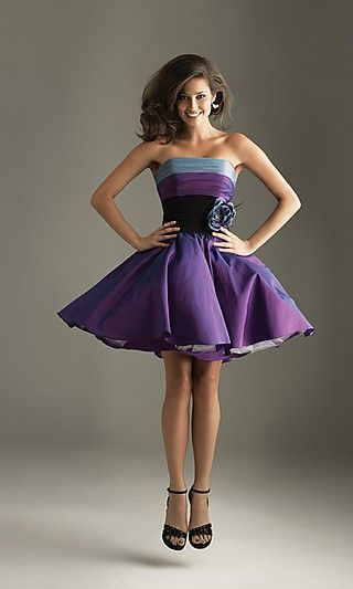 Love these colors, beautiful dress! I want to have this and a party I could wear it to