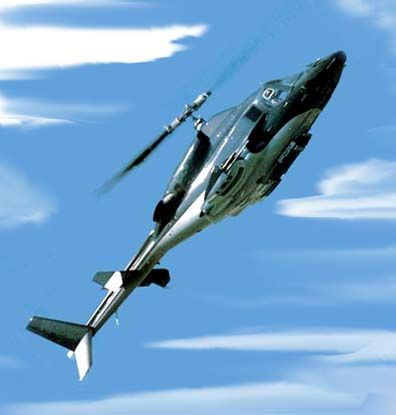 """Airwolf, a modified Bell 222  RoleDisguised military helicopter  Manufacturer""""The Firm""""  DesignerDoctor Charles Henry Moffet  First flight1983  Primary userStringfellow Hawke  Number built1  Unit cost~US$ one billion (1984 price)  Developed fromBe"""