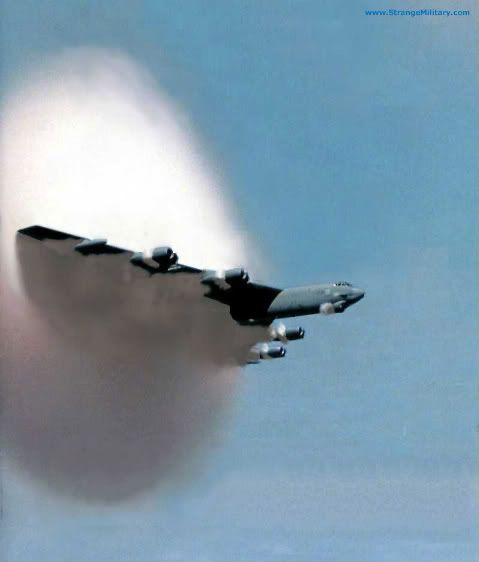 B 52 breaking the sound barrier. I can't believe my grandfather flew that giant Bomber.: Sound Barrier, Airforce, B52, Aircraft, Soundbarrier, Photo, Military Airplanes