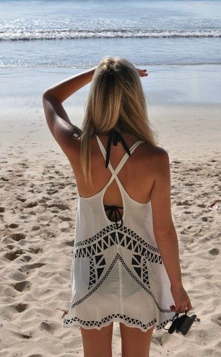 : Cover Up, Beaches, Beach Style, Coverup, Summer, Beach Cover
