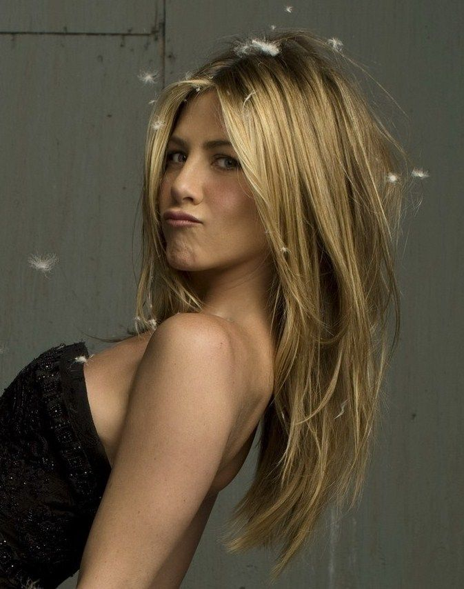 Long Layered Blond Hair - Jennifer Aniston Hairstyles 2: Jennifer Aniston Hairstyle, Blond Hair Style, Long Hair Haircut, Blonde Hair Cut, Long Layered Hairstyle, Iconic Hairstyle