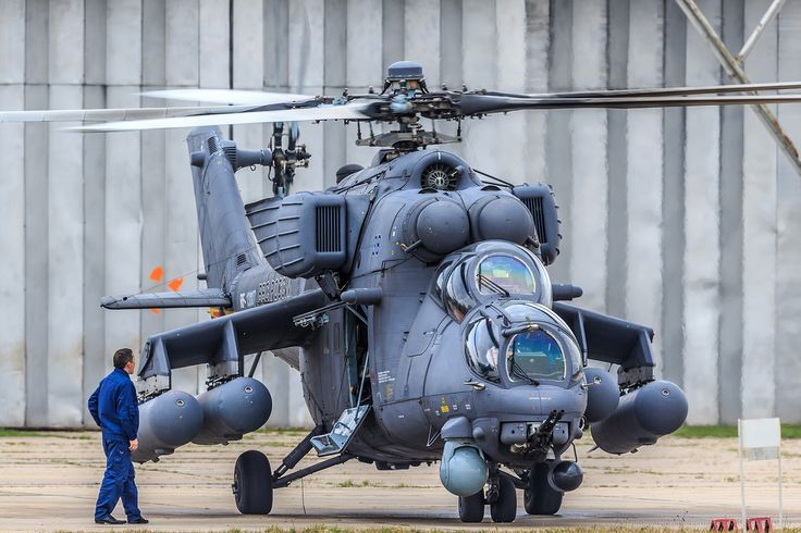 Russian Mil Mi-24 helicopter went from drawing board in 1968 to first test-flights in less than eighteen months. The first models were delivered to the armed forces for evaluation in 1971.  There have been many variations over the years and it is still be