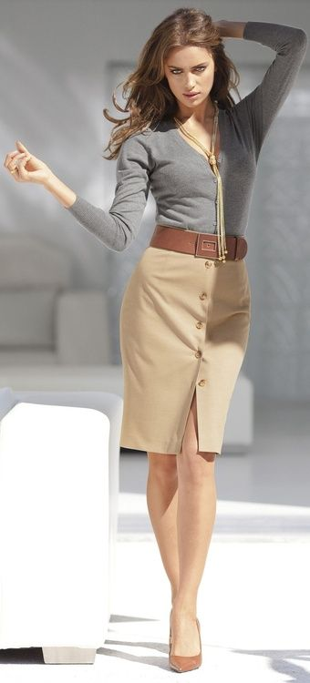 Simple skirt: Women S, Fashion, Style, Dress, Business Outfit, Office Wear, Work Outfits