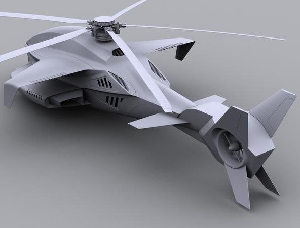 futuristic helicopter concept: Aircraft Helicopter And, Boats Planes Helicopters, Airwolf Concept, Aerospace Helicopters, Helicopter Concept, 592 450, Concept Helicopters, Future Vehicle