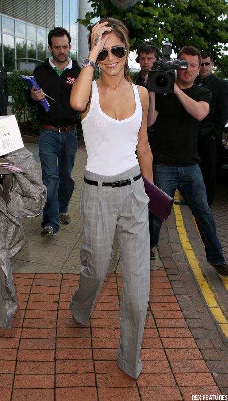 white tanks - can never have too many!: Cherylcole, Fashion, Inspiration, Pants, Outfit, Casual, Styles, Cheryl Cole Style, Wear