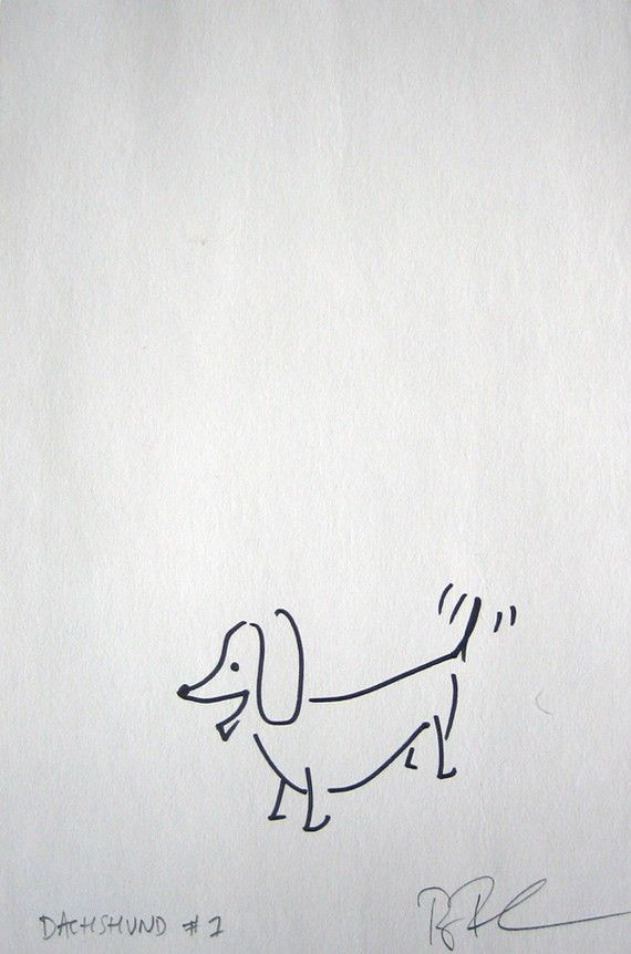 Doxie sketch. someone should draw some pictures of us.: Dachshund Tattoo Ideas, Doxie Tattoo, Dachshunds Teckels, Doxie Sketch, Dachshund Original, Daschund Tattoo, Dachshund Clube
