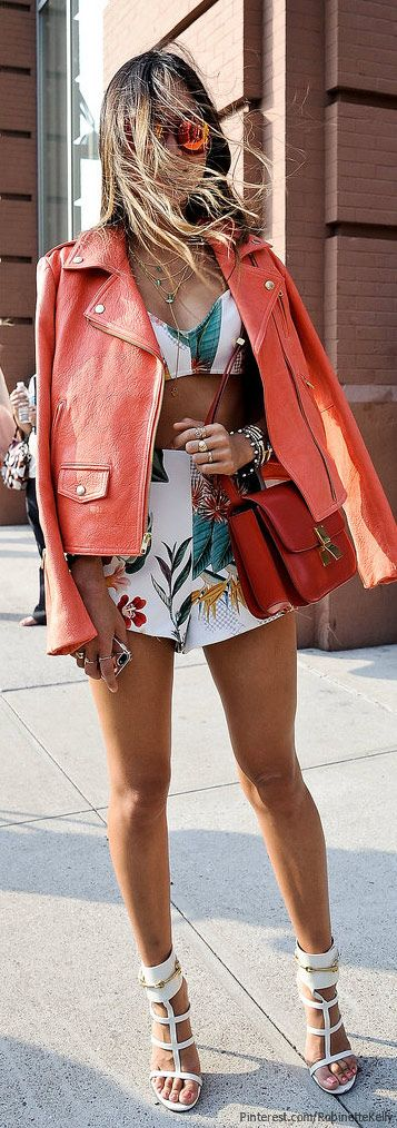Street Style, NYFW. #boudoirfashionday | More outfits like this on the Stylekick app! Download at http://app.stylekick.com: Summer Fashion, Clothes, Street Style, Dress, Outfit, Spring Summer, Street Styles