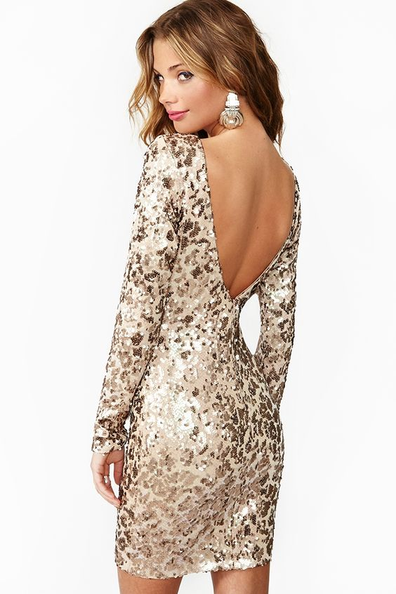 Cat Call Sequin Dress - want this dress so bad!