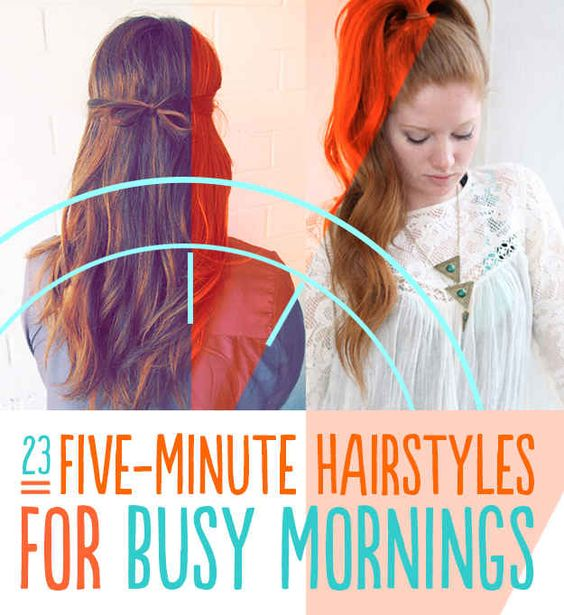 23 Five-Minute Hairstyles For Busy Mornings - BuzzFeed