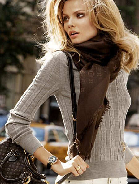 LV scarf and bag: Scarf Changes, Louis Vuitton Scarf, Louis Vuitton Handbags, St. Louis, Handbags Louis, Fall Winter, Lv Handbags