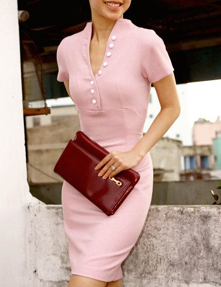 : Celeb Dress, Dylan Pencil, The Dress, Sheath Dress, Work Outfit, Pink Pencil, Pencil Dresses, Pink Dress