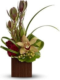 Tropical Flower Arrangements reception wedding flowers,  wedding decor, wedding flower centerpiece, wedding flower arrangement, add pic source on comment and we will update it. www.myfloweraffair.com can create this beautiful wedding flower look.: Tropica