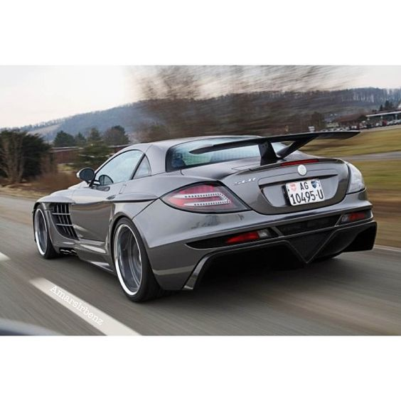 Mercedes Benz SLR McLaren rear shot! Hot stuff!