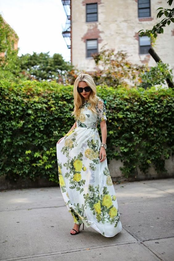 Love this, maxi dresses are such a great piece for dressing down or dressing up