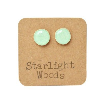 Mint Stud earrings