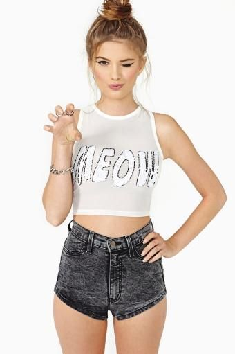 CHARLES GREEN 1452 LEESTOWN RD APT 1 LEXINGTON KY 40511 WANNA BECOME A FEMALE ALSO: Crop Top Outfits, Tops Outfits, Sequin Top, Croptop, Meow Crop, White Top, White Crop Tops