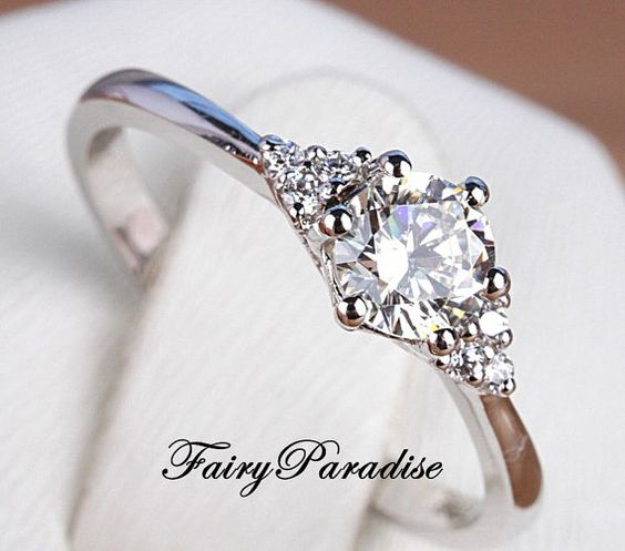 Hey, I found this really awesome Etsy listing at https://www.etsy.com/listing/217668673/1-ct-round-cut-man-made-diamond-with-3
