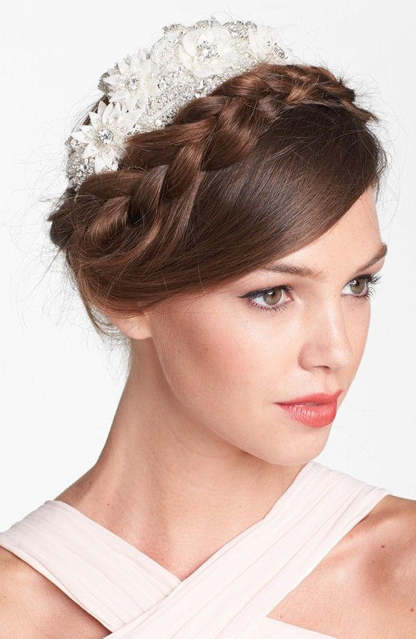 19 Gorgeous Hairstyles For Your #Wedding Day. To see more: http://www.modwedding.com/2013/12/26/19-gorgeous-wedding-hairstyles/: Head Wraps, Judge Floral, Judges, Hairstyle, Hair Style