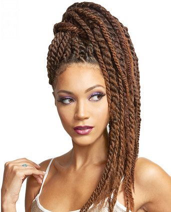 """Bobbi Boss African Roots Braiding Collection Lock & Twist 18"""""""": Almighty Twists, Hairstyles, Boss African, Twist 18, African Curly, African Roots"""