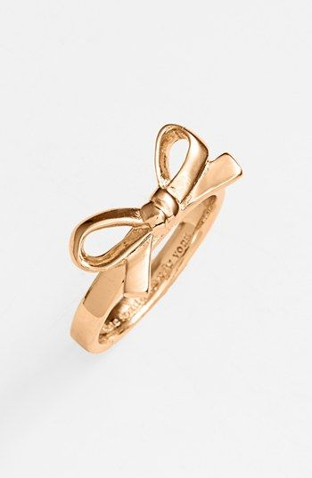 kate spade new york 'skinny mini' bow ring available at #Nordstrom $48: Style, York Skinny, Minis, Bows, New York, Bow Rings, Kate Spade, Katespade, Skinny Mini