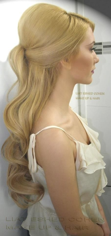 Liat Eshed Cohen Makeup and Hair | Beautiful Hairstyle | Wedding or photo shoots.: Hair Ideas, Weddinghair, Hair Styles, Wedding Hair Oh, Prom Hair, Beauty, Hairstyle Wedding, Wedding Hairstyles