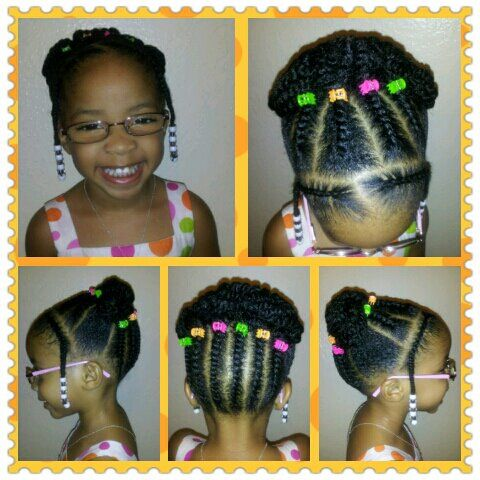 Natural little girl style: Black Girl Hairstyles For Kids, Little Black Girl Hairstyles, Black Toddler Hairstyles, Babygirl Hairstyles, Hair Styles, Black Little Girl Hairstyles, Girls Hairstyles, Kids Hairstyles, Natural Hairstyles