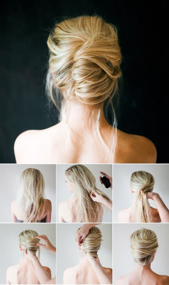 Other hairstyle tutorials here http://pinmakeuptips.com/what-are-the-10-biggest-hair-care-mistakes/: Wedding Hair, Hair Tutorial, Updos, French Twist