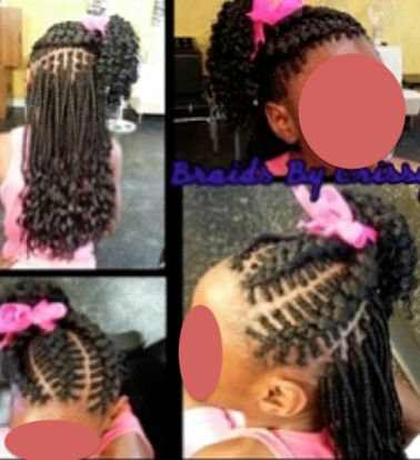 This is wrong on so may levels...  Stylist under fire for cutting little girl's braids out and posting photos to Instagram after mom failed to pay.: Black Kids Braids Hairstyles, Black Girls Braids Hairstyles, Hair Styles, Black Kid Hairstyles Girls,