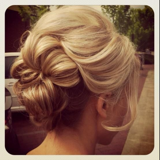 Updo | Hairstyles and Beauty Tips: Hair Ideas, Weddinghair, Wedding Hair, Hairstyles, Hair Styles, Wedding Ideas, Wedding Updo, Makeup, Updos