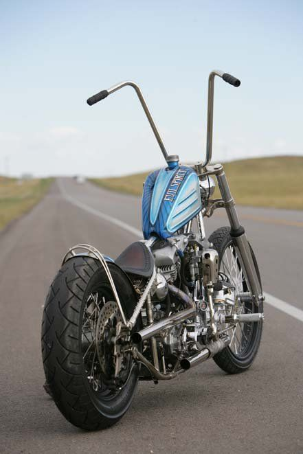 Chopper...  I'd prefer some extras, and some of those wimpy things (like mirrors!), but I'd still give it a run down the road!: Kool Chopper, Chopper Motorcycles, Motorcycles Choppers, Harley Custom, Harley Choppers