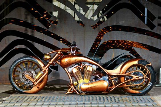 Visit The MACHINE Shop Café... ❤ Best of Bikes @ MACHINE ❤ (Gold Plated Lowrider Chopper): Bikes Choppers, Awesome Motorcycle, Motorbike, Cars Trucks Motorcycles, Custom Motorcycles, Custom Choppers, Custom Bikes, Motorcycles Cars