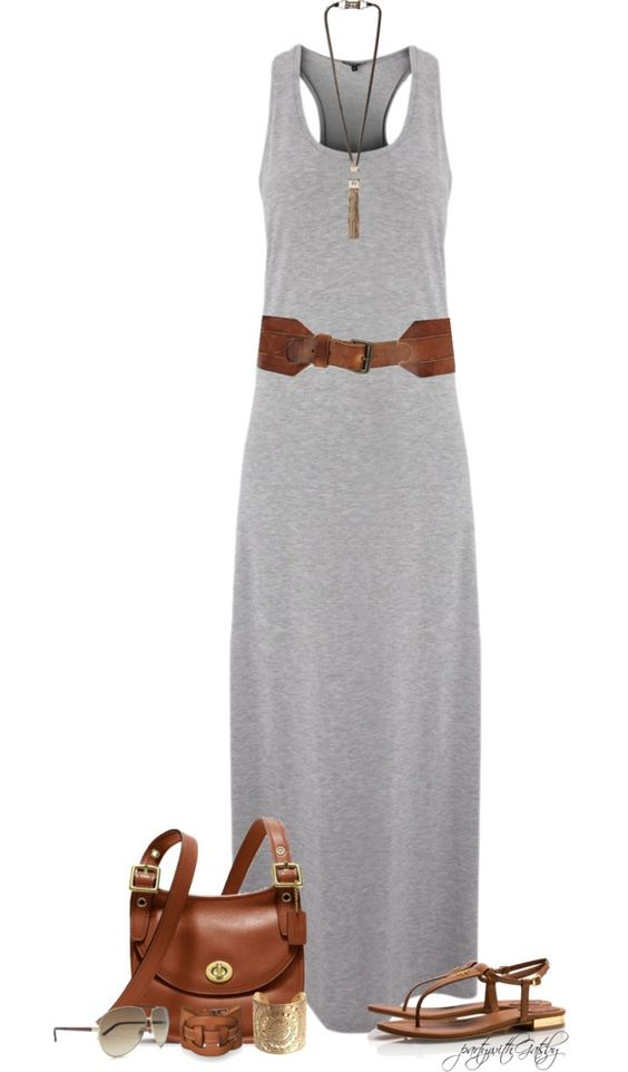 """Summer!"" by partywithgatsby on Polyvore: Maxi Dresses, Summer 2015, Fashion Style, Fashion Outfits, Spring Summer, Summer Outfits, Casual Summer Dresses"